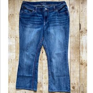 4/$20 Maurices Size 18W Short Bootcut jeans